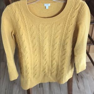 Jcrew cable sweater - size s